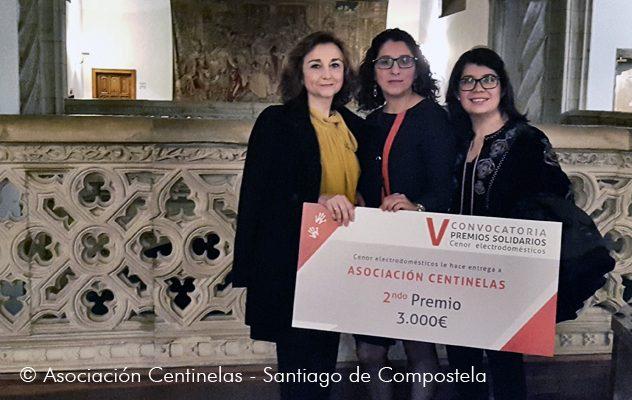 A Asociación CentinELAS foi galardoada nos Premios Solidarios Cenor