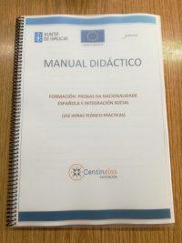 Inicio da Formación de preparación para as probas da Nacionalidade española e integración social
