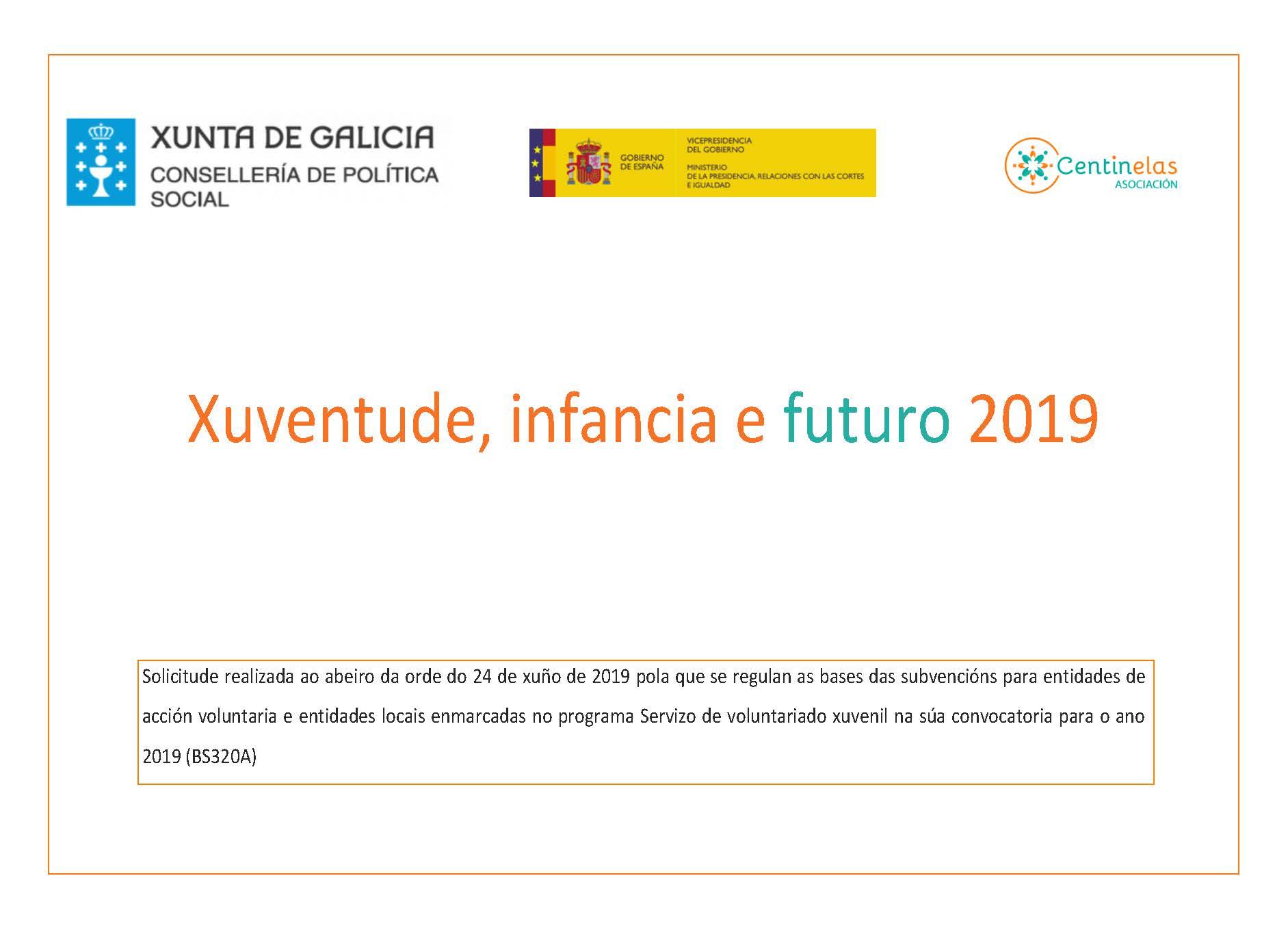 Xuventude, infancia e futuro 2019