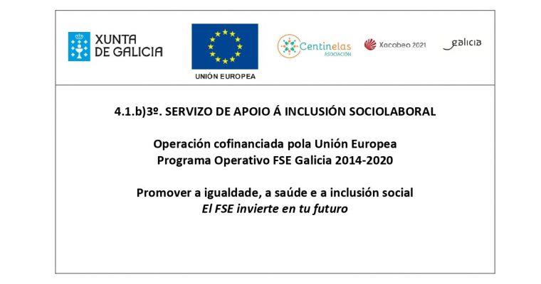 Inicio do Servizo de Apoio á Inclusión Sociolaboral (Apoio e Transición ao emprego)