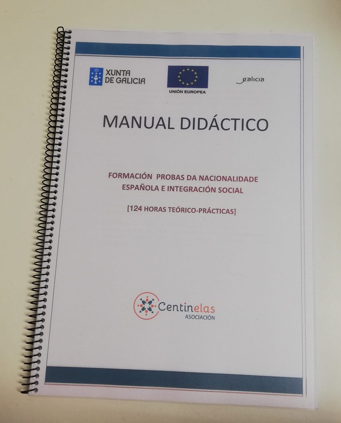 Inicio do curso de preparación das Probas da Nacionalidade Española e Integración Social